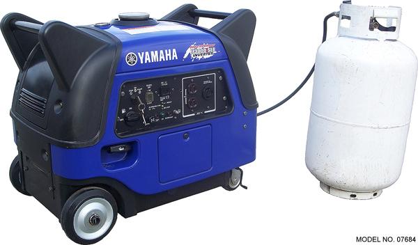 Triple Fuel Yamaha Ef3000iseb Inverter Generator
